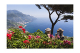 Amalfi Coast Vista at Ravello, Italy Photographic Print by George Oze