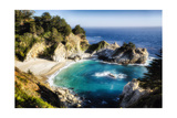 Magical Cove, Big Sur, California Photographic Print by George Oze