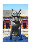 Sculpture of a Qilin, Summer Palace, Beijing Photographic Print by George Oze