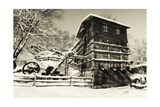 Old Quarry Mill Photographic Print by George Oze