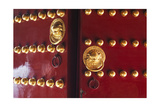 Doors to Temple of Heaven, Beijing, China Photographic Print by George Oze