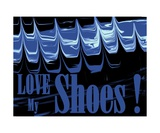 Love My Shoes! Number 5 Photographic Print by Diane Strain