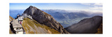 Panoramic View from Mt Piltus, Switzerland Photographic Print by George Oze