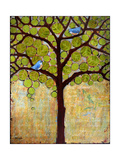 Tree Print Birds Boughs in Leaf Photographic Print by Blenda Tyvoll