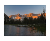 Kaweah Peaks From Little Five Lakes Photographic Print by Ronald A Dahlquist