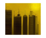 Talking Towers 10 Photographic Print by Diane Strain