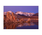 Mono Lake South Tufa Area In Predawn Light Photographic Print by Ronald A Dahlquist