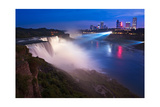 Niagara Falls Illuminations Photographic Print by Steve Gadomski