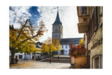 Saint Peters Church, Zurich, Switzerland Photographic Print by George Oze