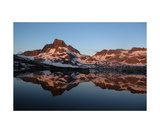 Banner Peak,Thousand Island Lake,Sunrise Alpenglow Photographic Print by Ronald A Dahlquist