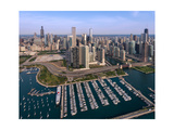 DuSable Harbor Chicago Photographic Print by Steve Gadomski