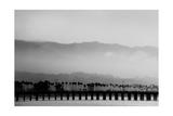 Santa Barbara Pier Mono Photographic Print by John Gusky