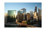 River City Chicago Photographic Print by Steve Gadomski