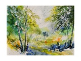 Watercolor 414061 Photographic Print by  Ledent