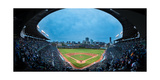 Wrigley Field Night Game Chicago Photographie par Steve Gadomski