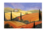 Rolling Hills Of Tuscany Photographic Print by Herb Dickinson