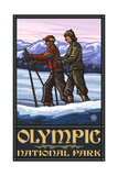 Olympic National Park CCS Skiers Pal 2937 Photographic Print by Paul A Lanquist