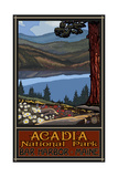 Acadia National Park Lake Trails Photographic Print by Paul A Lanquist