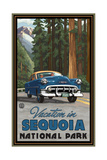 Vacation in Sequoia National Park Photographic Print by Paul A Lanquist