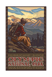 Olympic National Park MHM Hiker Pal 2942 Photographic Print by Paul A Lanquist