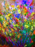 Wild Flowers Giclee Print by  Ledent