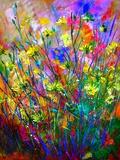 Wild Flowers Giclee Print by  Ledent