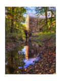 Old Mill Reflection, Chatham, New Jersey Photographic Print by George Oze