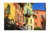 Pastel Colored Houses, Portofino, Liguria, Italy Photographic Print by George Oze