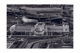 Chicago Icons BW Photographic Print by Steve Gadomski