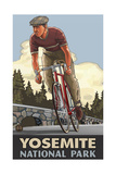 Yosemite National Park DHBF Biker Photographic Print by Paul A Lanquist