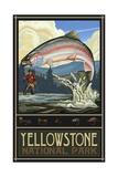 Yellowstone National Park Rainbow Trout Pal 774 Photographie par Paul A Lanquist