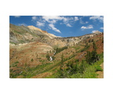 Franklin Creek And Rainbow Mountain, Mineral King Photographic Print by Ronald A Dahlquist