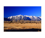 Carson Range Peaks Above Carson Valley Photographic Print by Ronald A Dahlquist