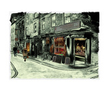 Butcher Shop Photographic Print by J A Evans