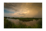 Horicon Marsh Storm Photographic Print by Steve Gadomski