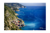 Cinque Terre Coast Scenic, Vernazza, Italy Photographic Print by George Oze