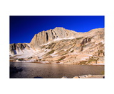 North Peak And Cascade Lake Photographic Print by Ronald A Dahlquist