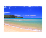 Hanalei Bay On The North Shore Of Kauai Photographic Print by Ronald A Dahlquist