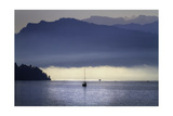 Foggy Morning on Lake Lucerne, Switzerland Photographic Print by George Oze