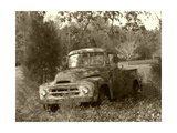 Pops Truck Photographic Print by Herb Dickinson