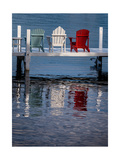 Lakeside Living Number 2 Photographic Print by Steve Gadomski