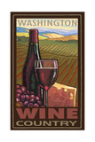 Washington Wine Country Pal 043 Photographic Print by Paul A Lanquist