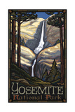 Yosemite Falls PAL 91 Photographic Print by Paul A Lanquist