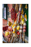 Ligurian Fishing Buoys, Vernazza, Italy Photographic Print by George Oze