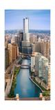 Chicago River Sunrise Photographic Print by Steve Gadomski