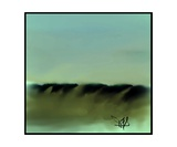 Dune Shadows A A 4 Photographic Print by Diane Strain