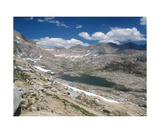 Nine Lakes Basin From Kaweah Gap Photographic Print by Ronald A Dahlquist