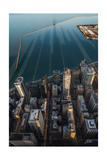 Chicago Shadows Photographic Print by Steve Gadomski