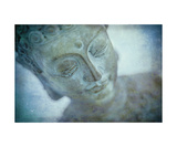 Buddha In Blue Photographic Print by Annmarie Young