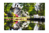 Dream Cottage, Griggstown, New Jersey Photographic Print by George Oze